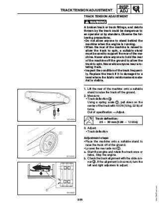 2007 Yamaha Attak (RXW10) SNOWMOBILE Service Repair Manual