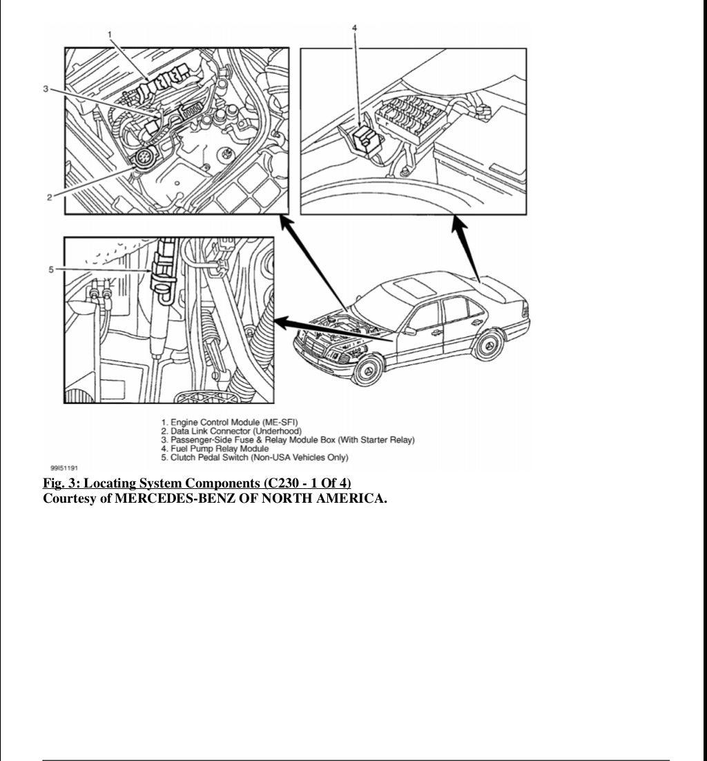 1998 Mercedes E320 Service Repair Manual