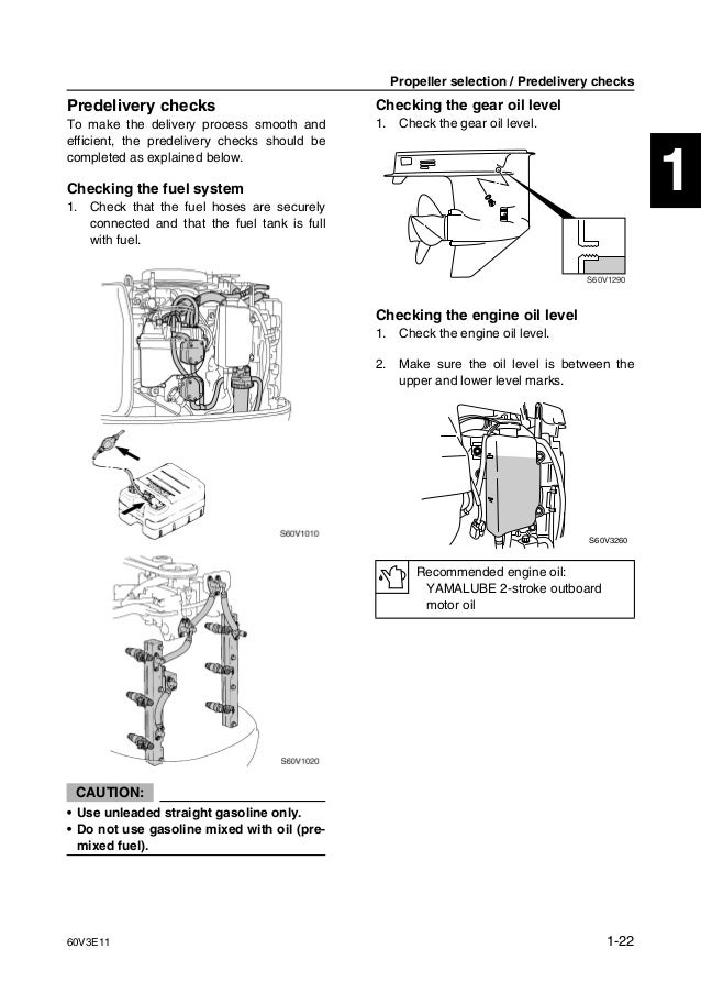 YAMAHA LZ250DETO OUTBOARD Service Repair Manual U: 1000001-