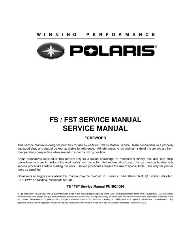 Wrg-3991] improved 2008 factory polaris sportsman 800 shop manual.