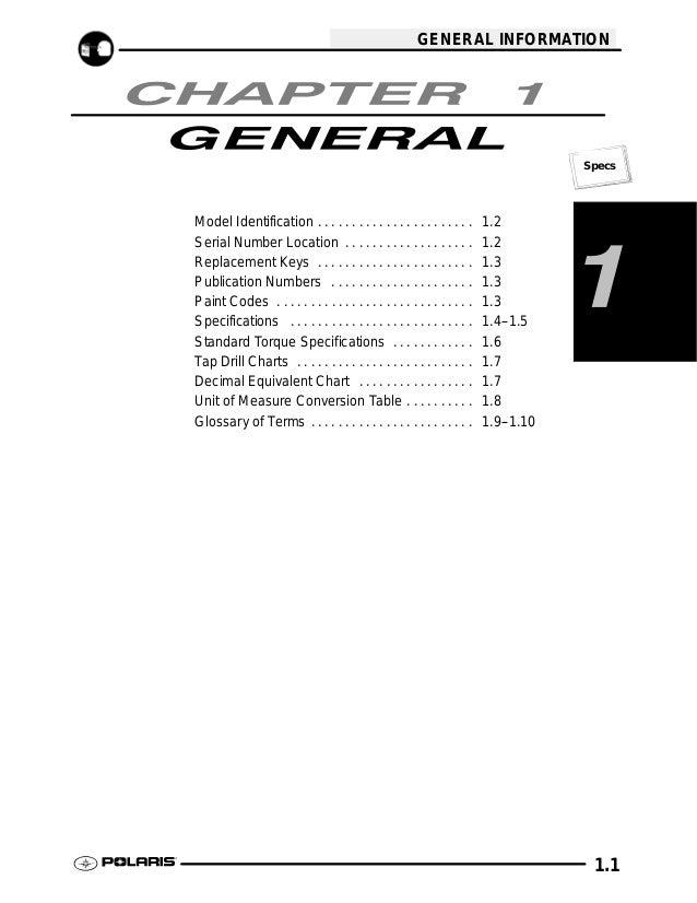 2009 Polaris Scrambler 500 4X4 Service Repair Manual