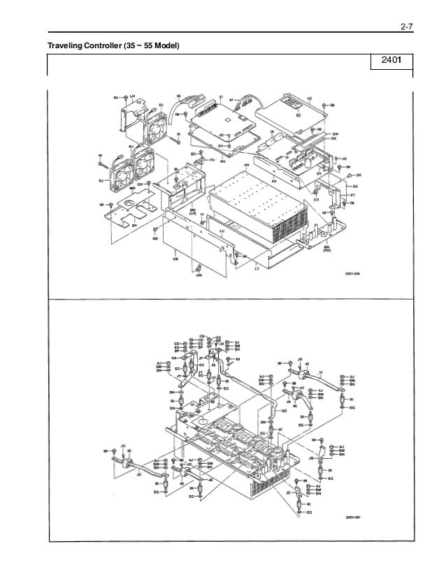 Toyota 7FBCU35 Forklift Service Repair Manual