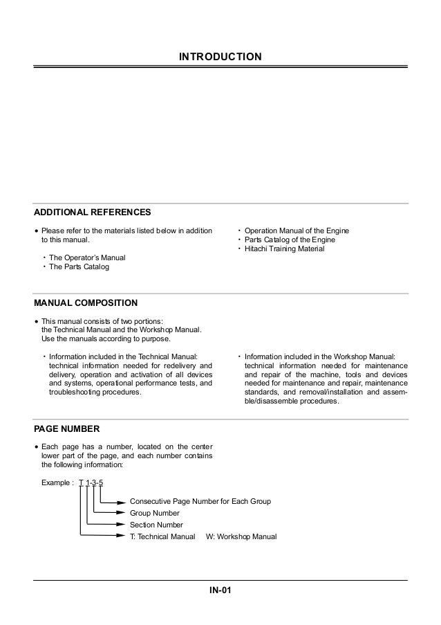 hitachi zaxis 210 excavator service repair manual rh slideshare net hitachi zx210 service manual hitachi zx210 service manual