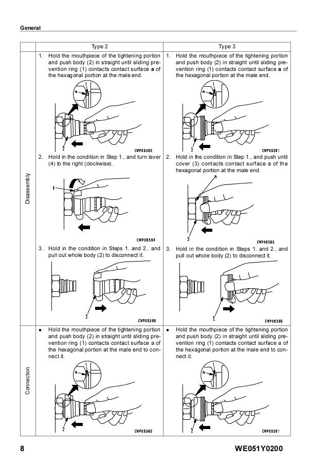Komatsu D61EX-15 Dozer Bulldozer Service Repair Manual S/N