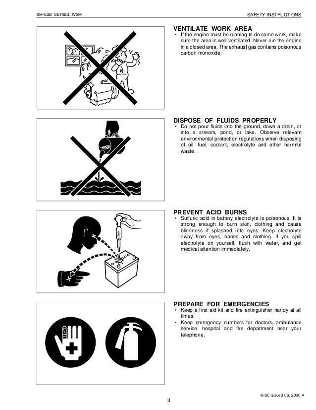 KUBOTA D662-E2B DIESEL ENGINE Service Repair Manual
