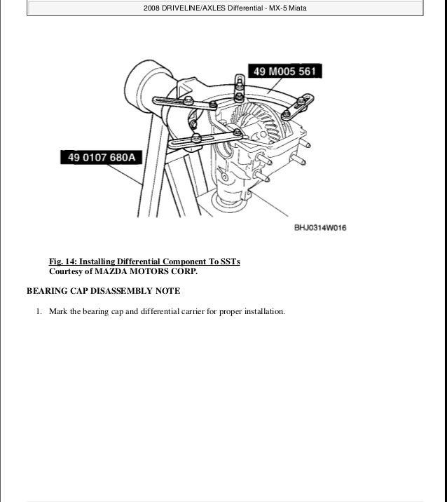 2008 mx-5 service manual