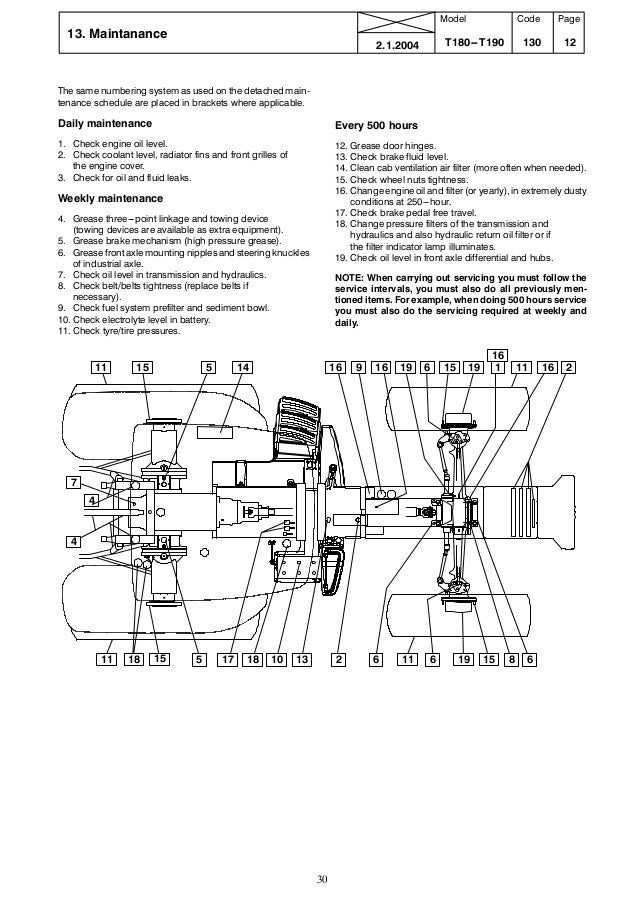 valtra t 140 tractor service repair manual