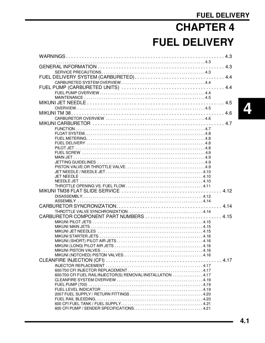 2007 POLARIS Dragon RMK TWO STROKE SNOWMOBILE Service