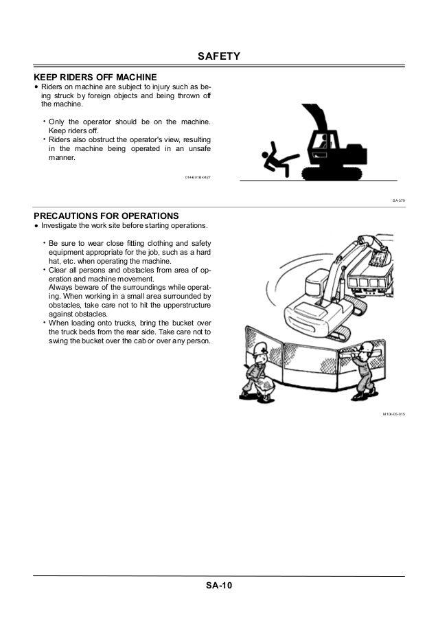 Hitachi 350 Excavator Manual