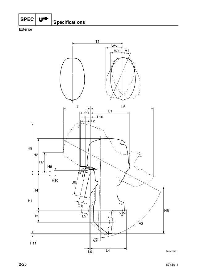 Yamaha Ft50bet Outboard Service Repair Manual L 406850