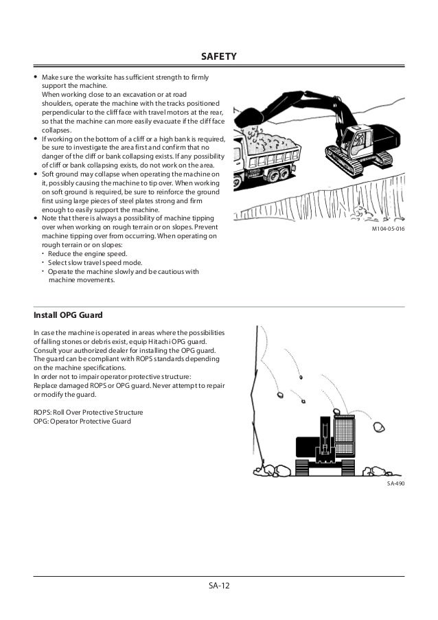 HITACHI ZAXIS ZX 470LC-5G EXCAVATOR Service Repair Manual