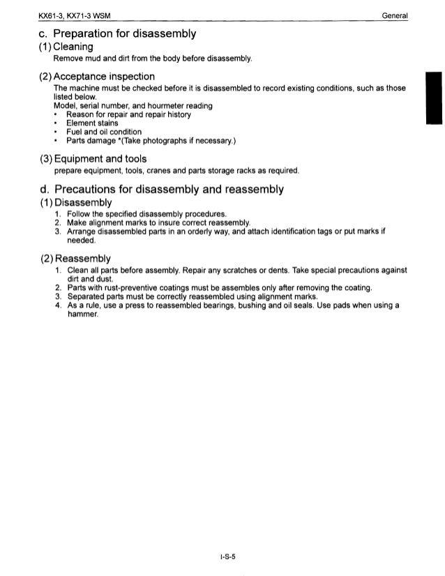 kubota kx161 3 service manual