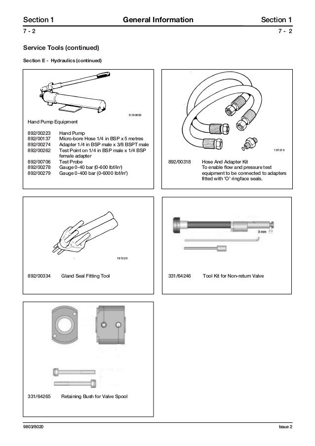 JCB 3185 FASTRAC Service Repair Manual SN:00640001-00641999 Jcb Wiring Diagram on