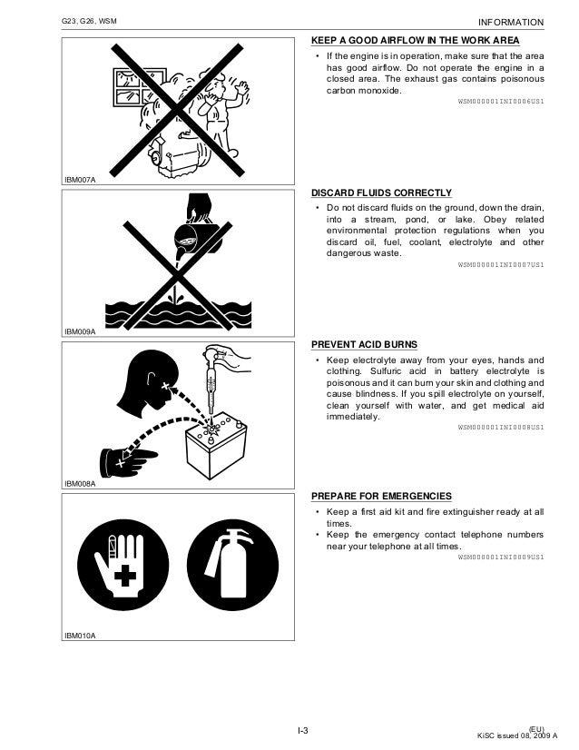 KUBOTA G23 RIDE ON MOWER Service Repair Manual