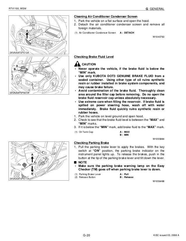 Kubota RTV 1100 Oil Change and Air Filter Kit RTV 1100