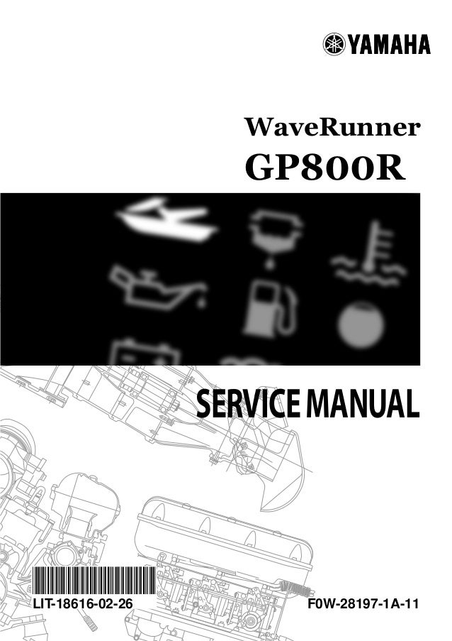 2005 yamaha gp800r waverunner service repair manual rh slideshare net yamaha gp800 owners manual pdf yamaha gp800r service manual pdf