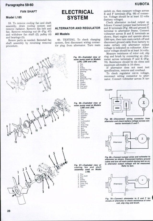 Kubota 2350 Tractor Wiring Diagram. Kubota Parts Diagrams ... on