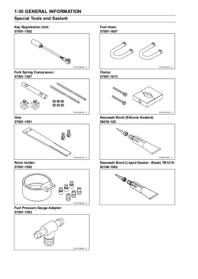 2006 Kawasaki ZX1200B6F Ninja ZX-12R Service Repair Manual