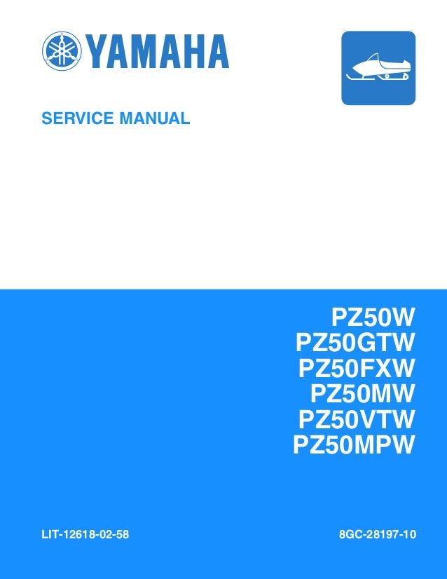 Astonishing 2007 Yamaha Venture Lite Pz50Vtw Snowmobile Service Repair Manual Wiring Database Denligelartorg
