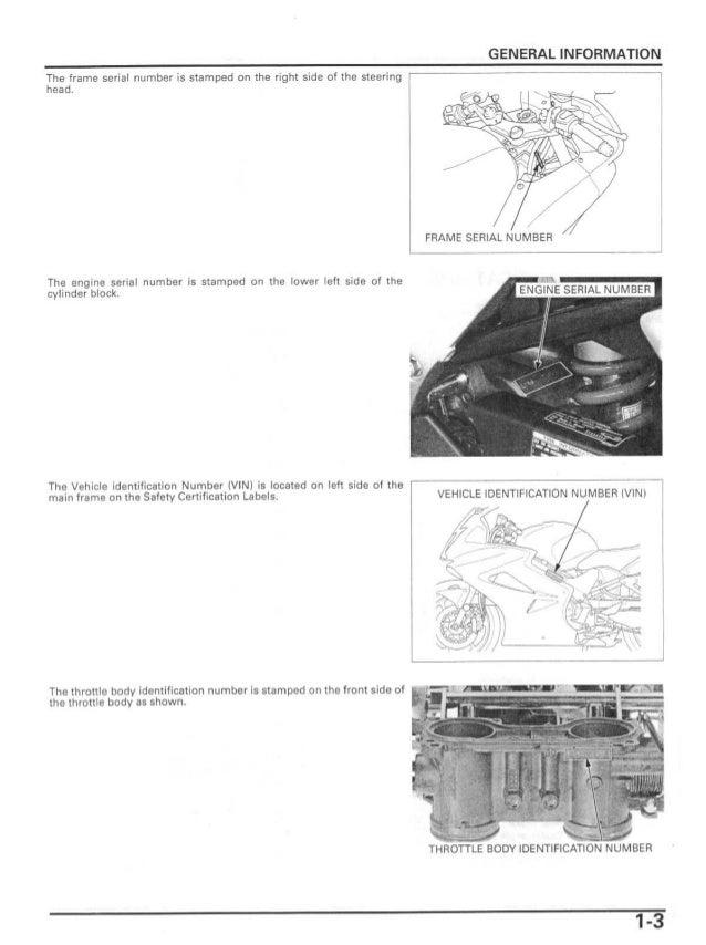 2002 Honda VFR800A Interceptor ABS Service Repair Manual