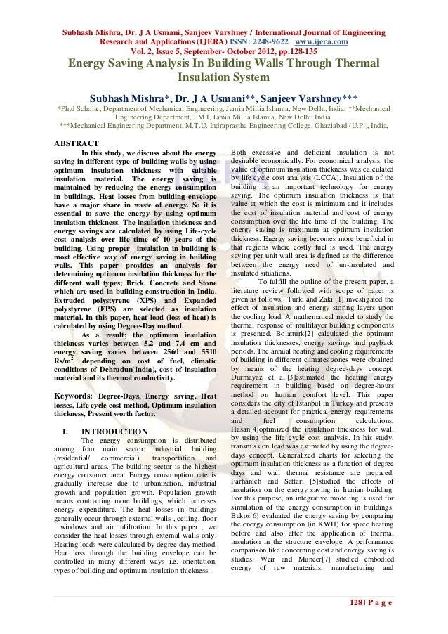 Subhash Mishra, Dr. J A Usmani, Sanjeev Varshney / International Journal of Engineering           Research and Application...