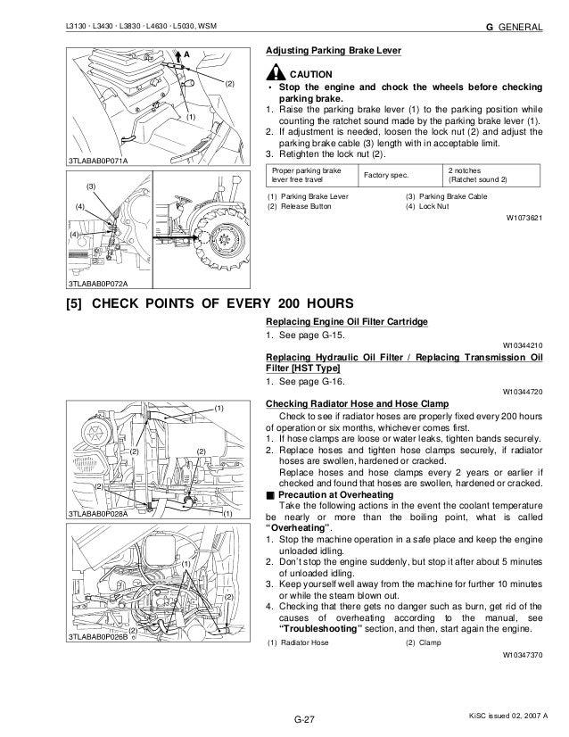 kubota l3430 tractor service repair manual rh slideshare net