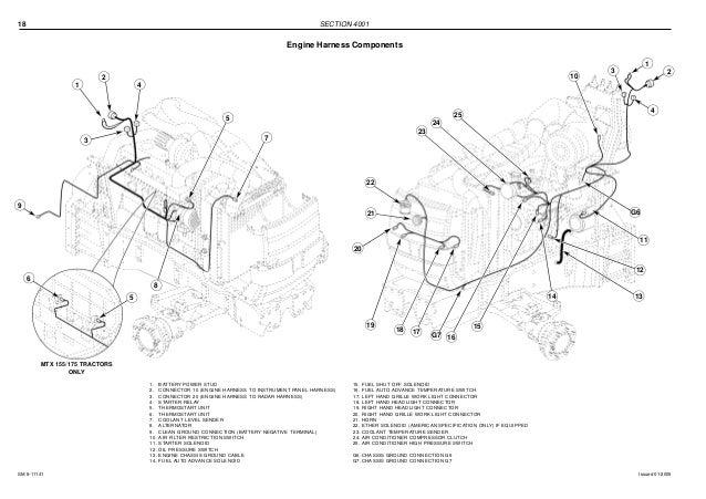 Mccormick Mtx110 Tractor Service Repair Manual