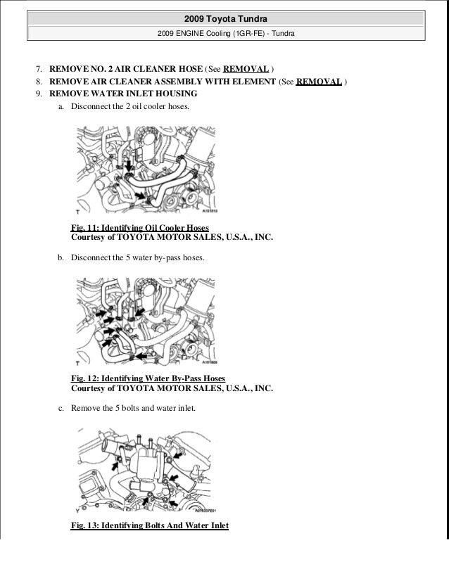 2009 Toyota Tundra Service Repair Manual