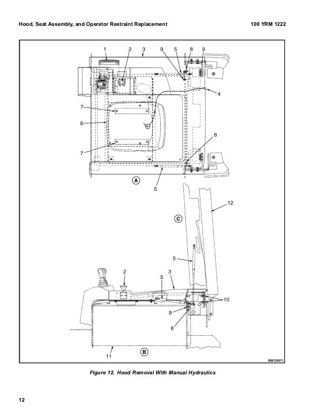 YALE E216 ERP30ALF LIFT TRUCK (EUROPE) Service Repair Manual