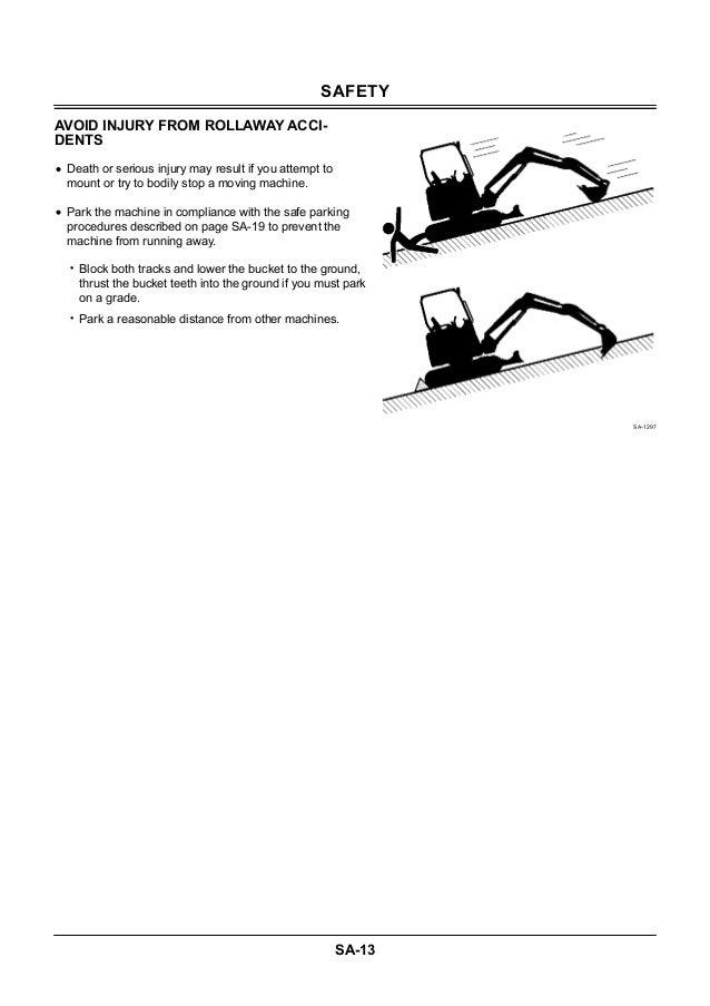HITACHI ZAXIS ZX 27U-3 class EXCAVATOR Service Repair Manual