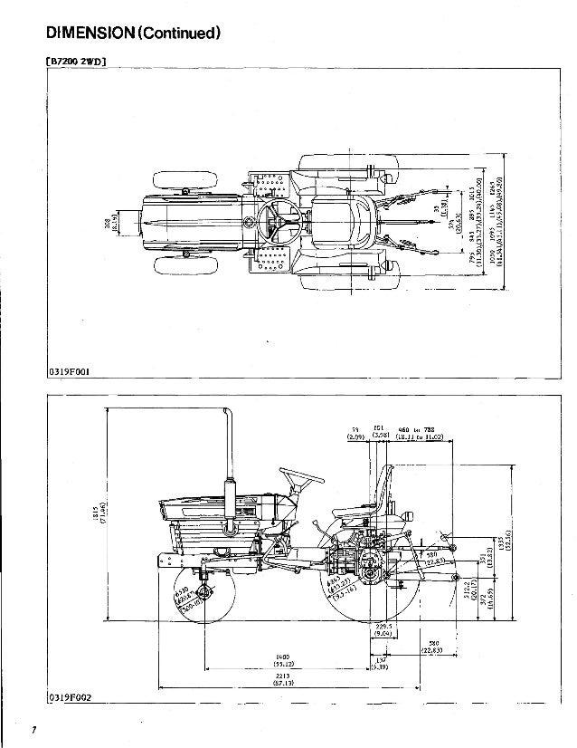 Kubota B6200 Tractor Service Repair Manual