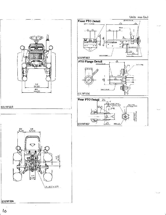 Kubota B6200 Tractor Service Repair Manual