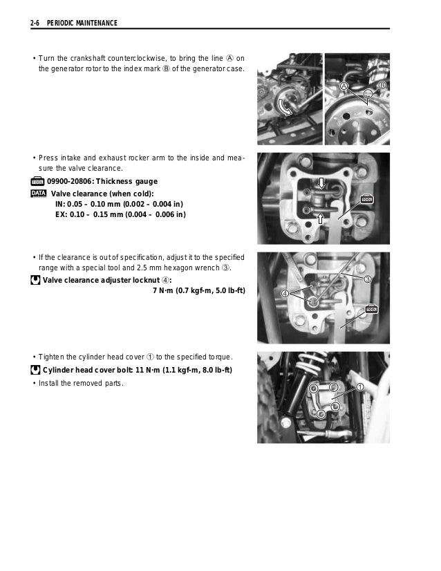 2006 Suzuki LT-Z50 K6 QuadSport Service Repair Manual