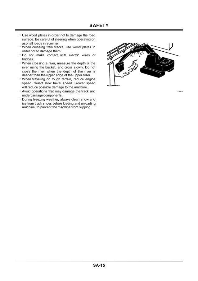 HITACHI ZAXIS 470H-3 EXCAVATOR Service Repair Manual