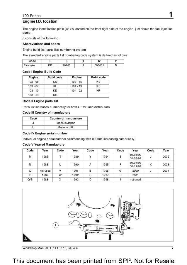 perkins 100 series 104 22 diesel engine service repair manual rh slideshare net Wiring-Diagram Massey 35 Perkins Perkins Engine Wiring Diagram PDF
