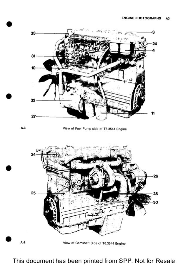 PERKINS 6.3544 DIESEL ENGINE Service Repair Manual