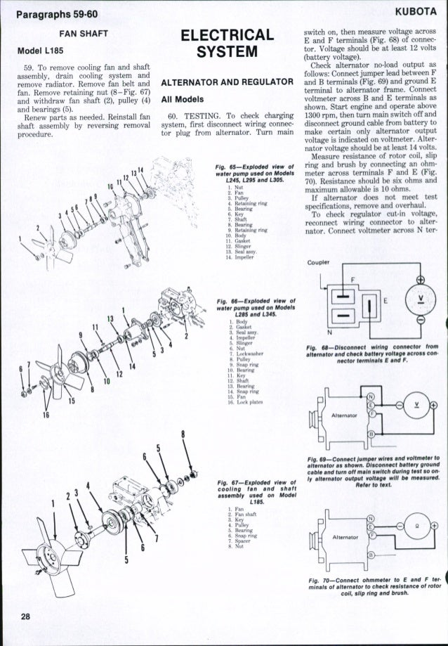 Kubota L245 Tractor Service Repair Manual