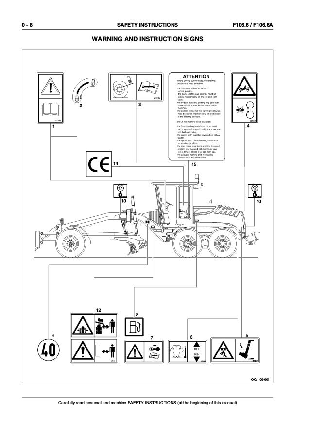 New Holland F106 6a Grader Service Repair Manual