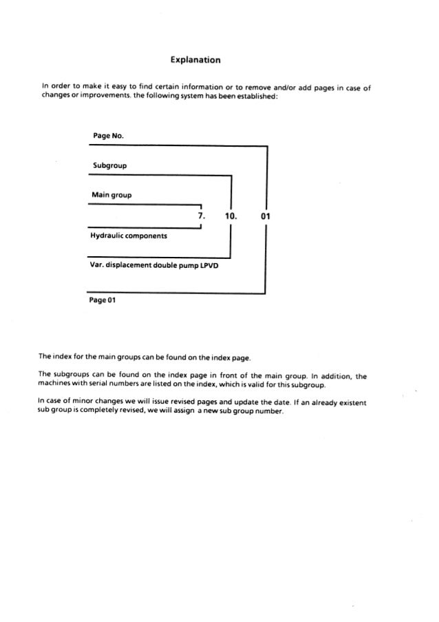 Liebherr A932 Litronic Hydraulic Excavator Service Repair Manual SN:101 and up Slide 3