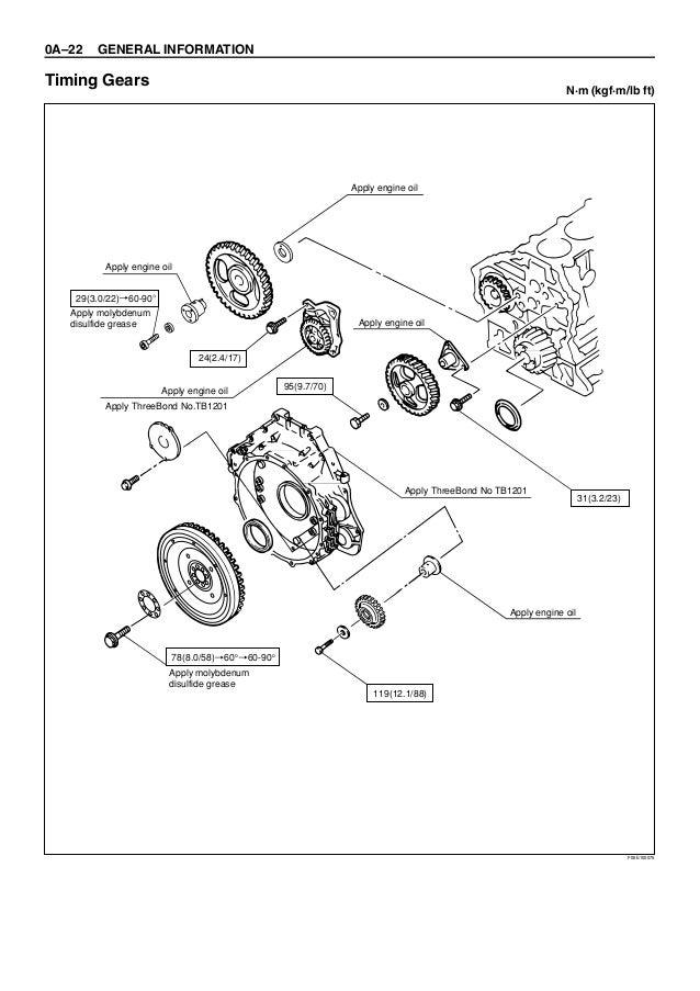 HITACHI 6HK1 TIER 2 ENGINE Service Repair Manual