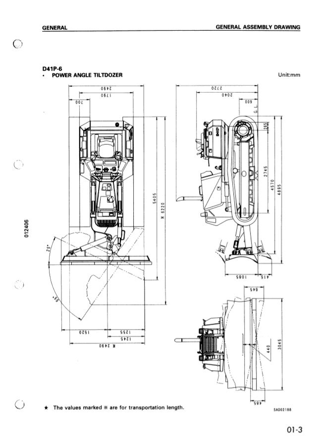 komatsu d41e 6 dozer bulldozer service repair manual s n b20001 b40000Komatsu D41p Wiring Diagrams #5