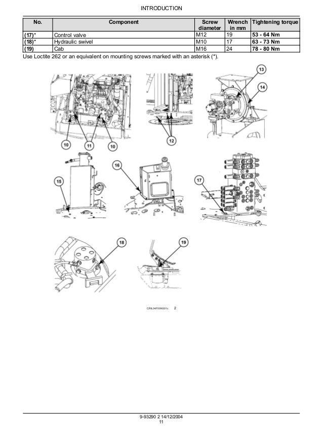 CASE CX80 CRAWLER EXCAVATOR Service Repair Manual