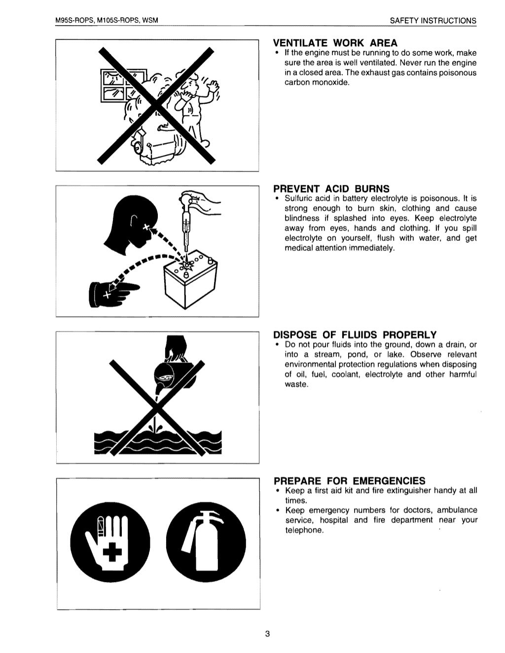 Kubota M105S Tractor Service Repair Manual