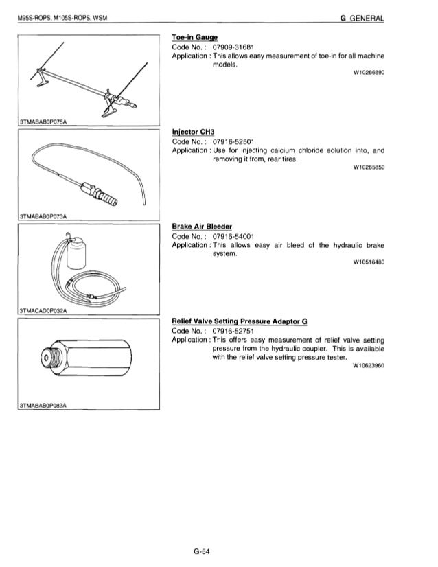 kubota m105s tractor service repair manual rh slideshare net Kubota Alternator Wiring Kubota RTV Wiring Schematics