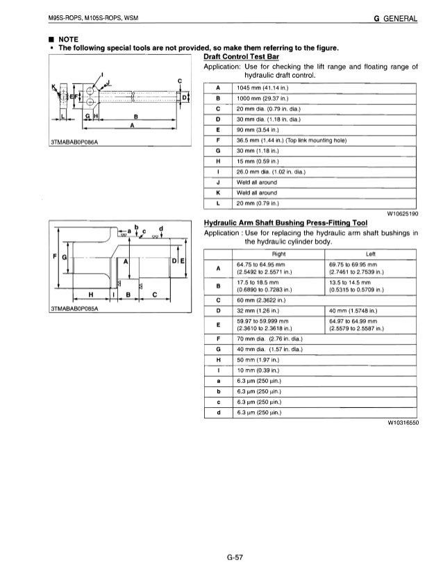 kubota m105s tractor service repair manual rh slideshare net Kubota Alternator Wiring Kubota Alternator Wiring