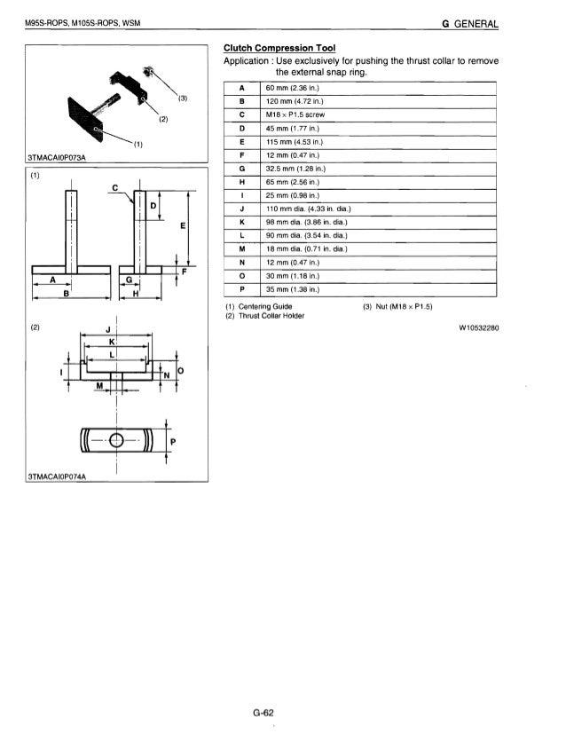kubota m105s tractor service repair manual rh slideshare net Kubota Alternator Wiring Diagram Kubota Alternator Wiring Diagram
