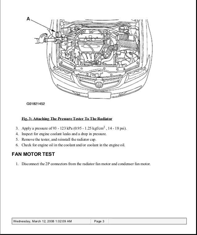 2007 ACURA TSX Service Repair Manual