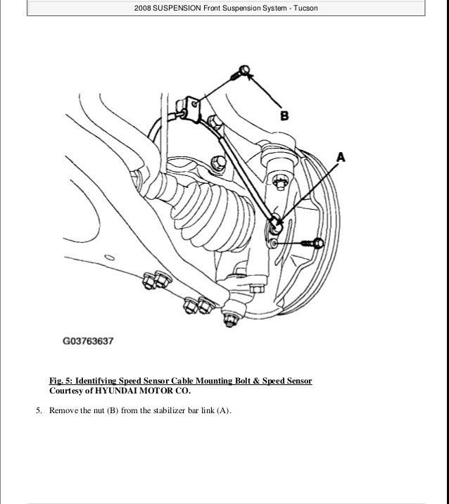 2008 Hyundai Tucson Service Repair Manual