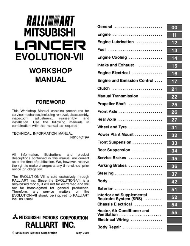 2002 Mitsubishi Lancer Evolution VII (EVO 7) Lancer ... on
