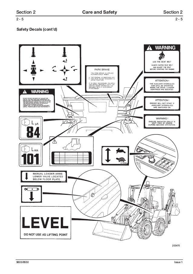 JCB 208S BACKHOE LOADER Service Repair Manual SN(806000